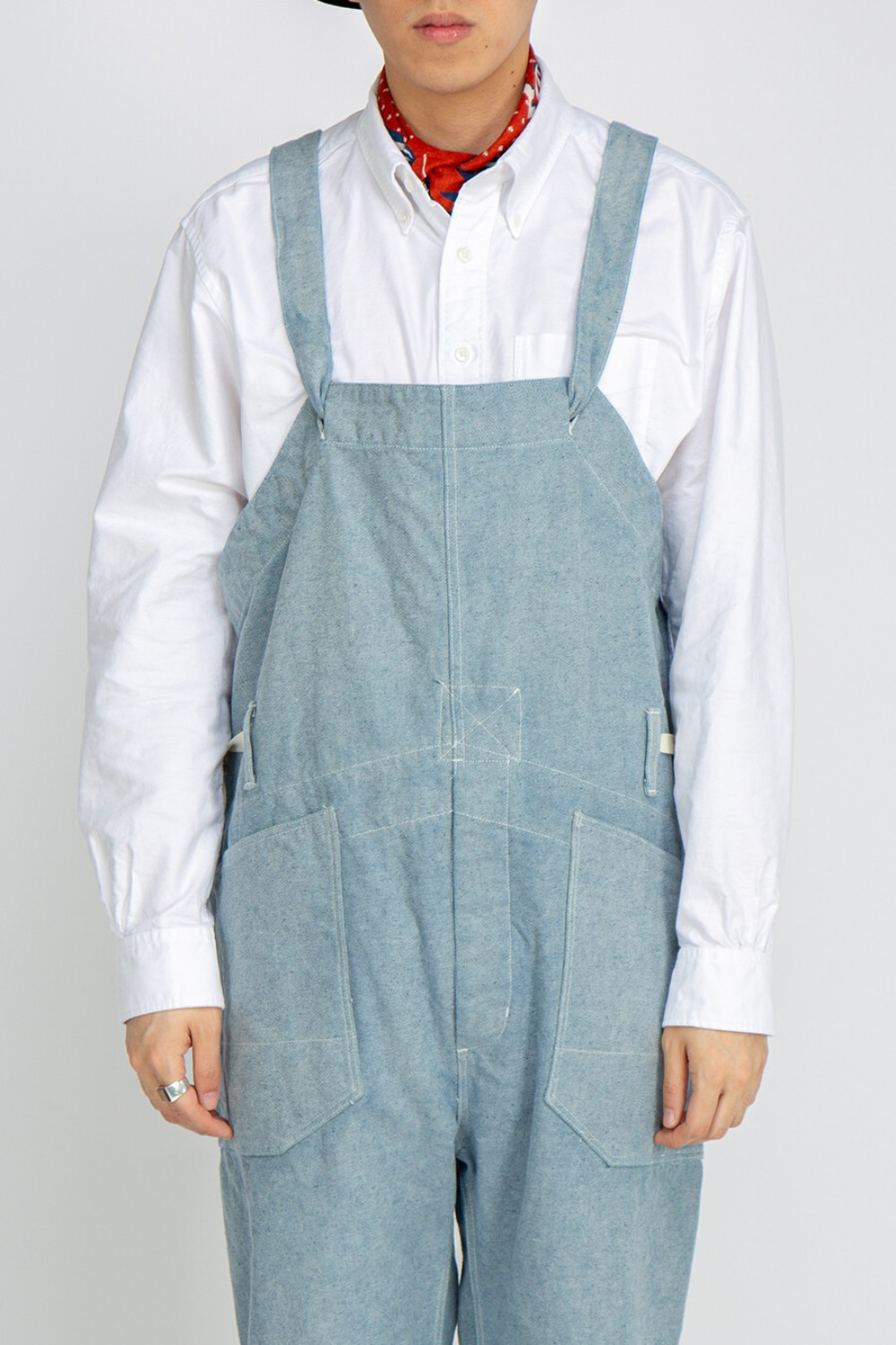 OVERALLS UPCYCLED DENIM BLUE