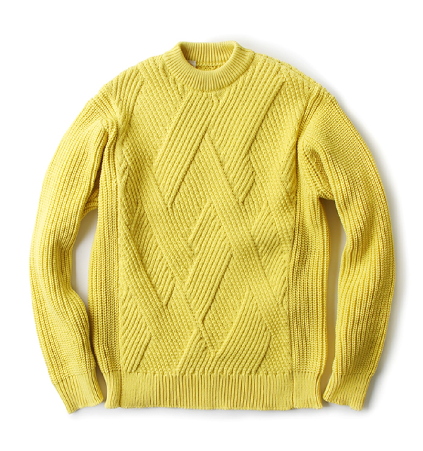 SWEATER YELLOW(162-KT03050)