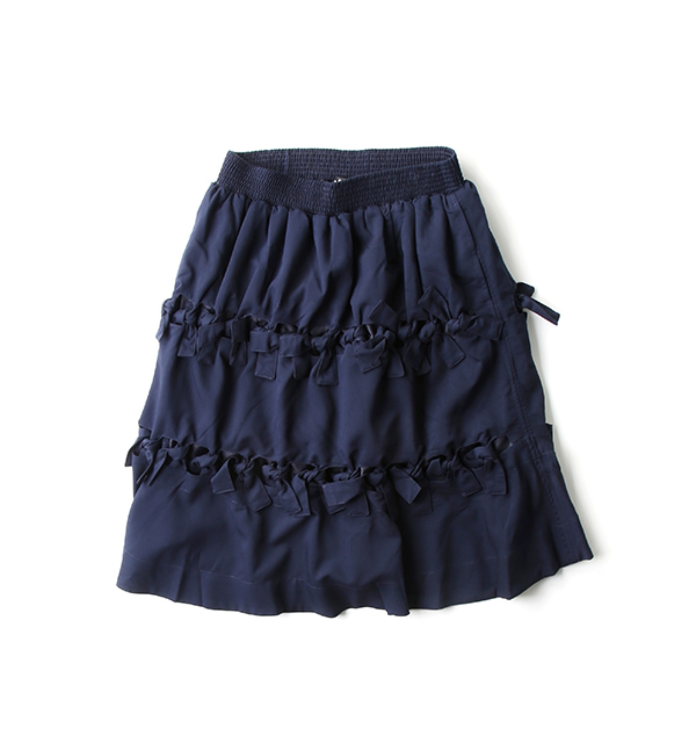 CROSSED WIRES SKIRT NAVY