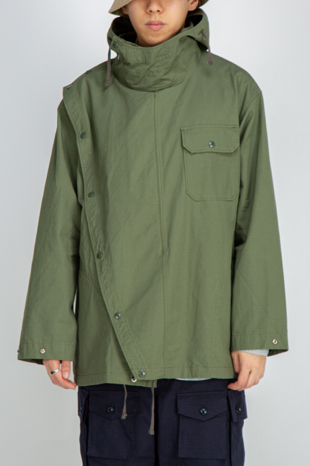 SONOR SHIRT JACKET COTTON RIPSTOP OLIVE