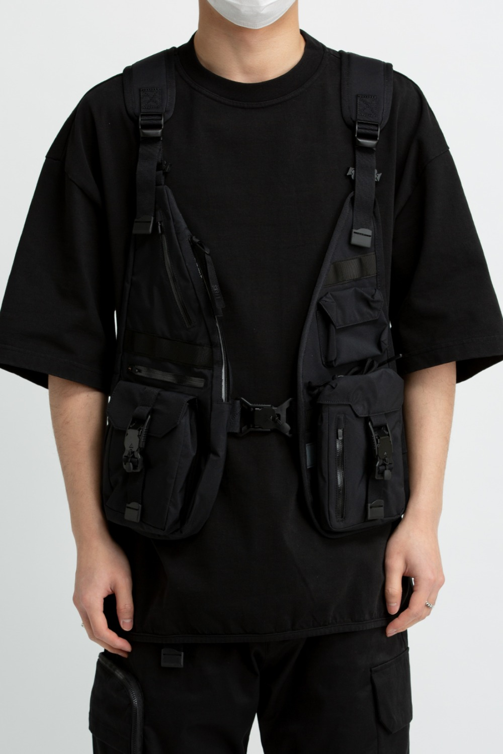 LOAD-OUT VEST(ZYVAX21004) BLACK