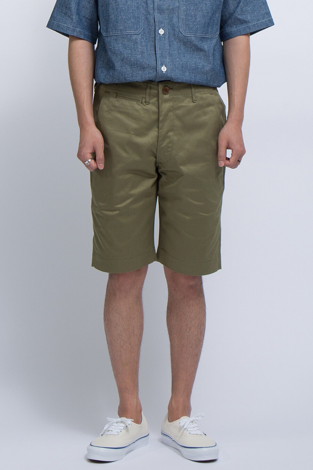 LOT 1204 CHINO SHORTS GREEN