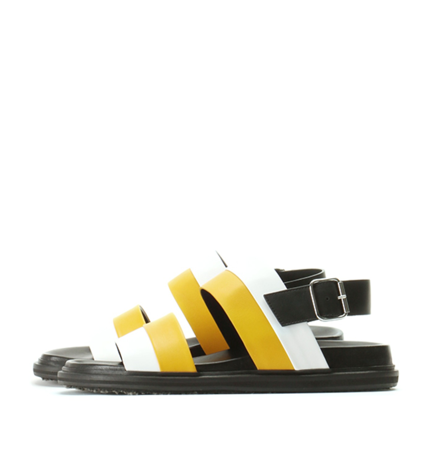 BI-COLORED CALFSKIN SANDAL YELLOW M24WP0019 (SY0366)