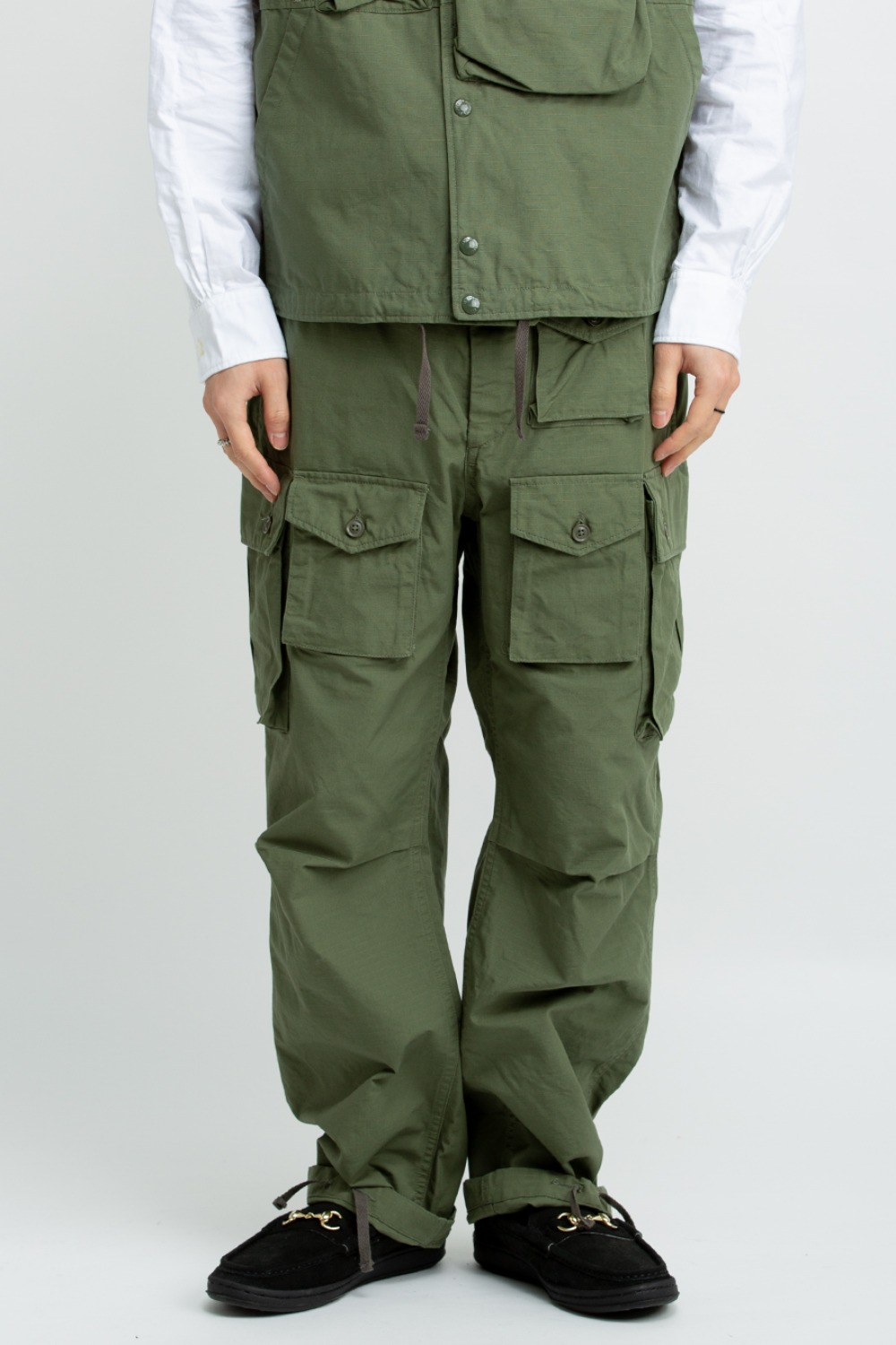 FA PANT COTTON RIPSTOP OLIVE