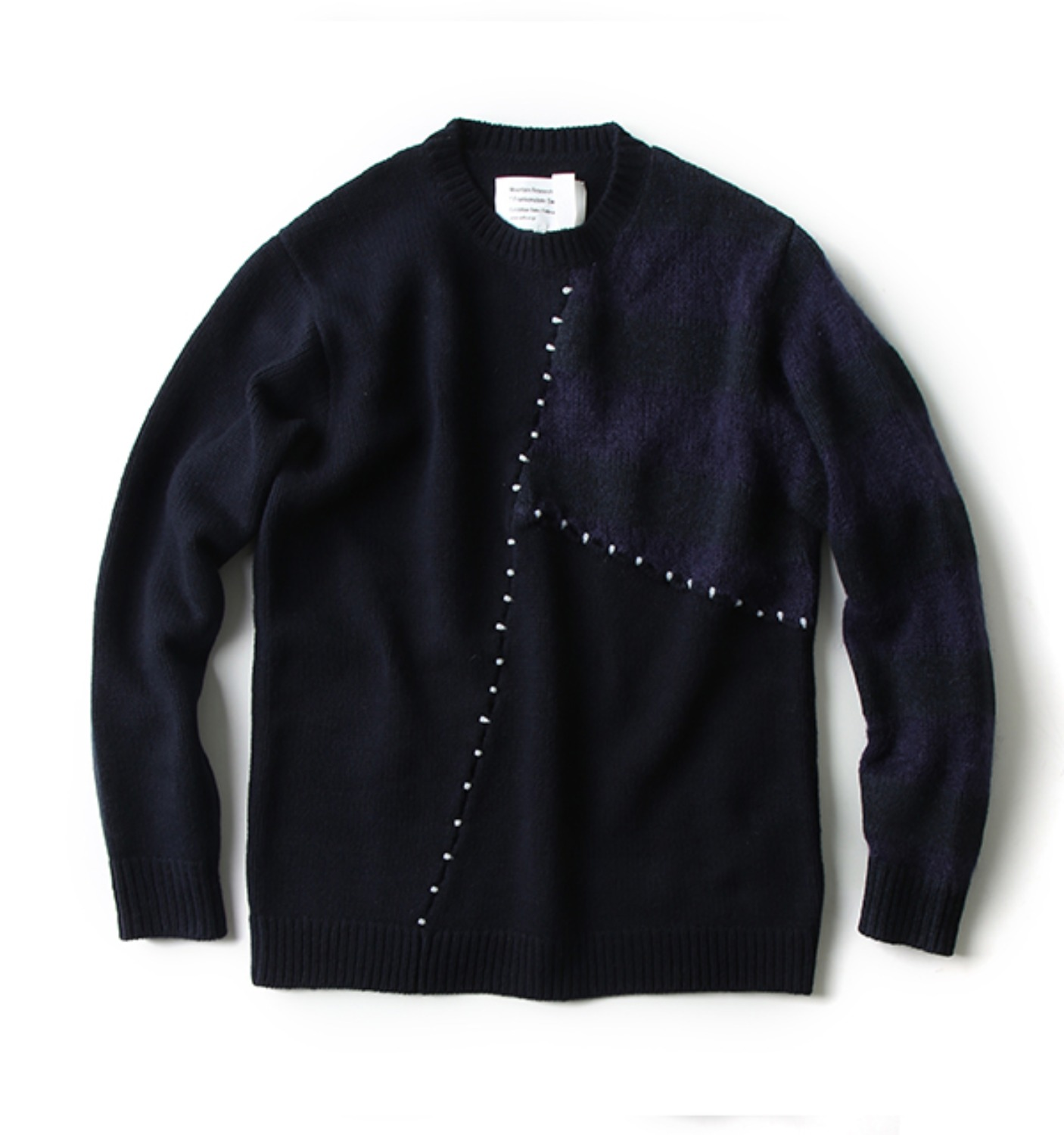 FRANKENSTEIN SWEATER(MTR-2331) NAVY