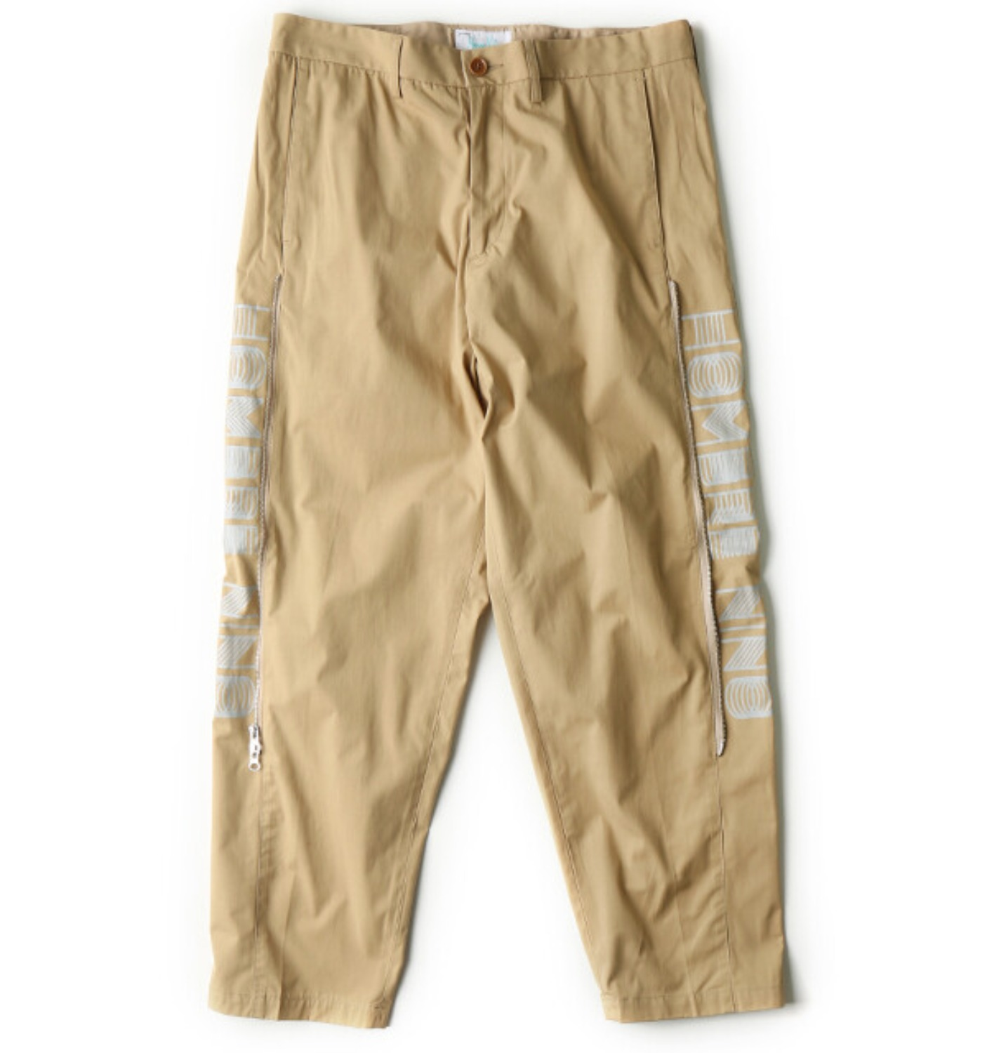 HN ZIP PANTS BEIGE