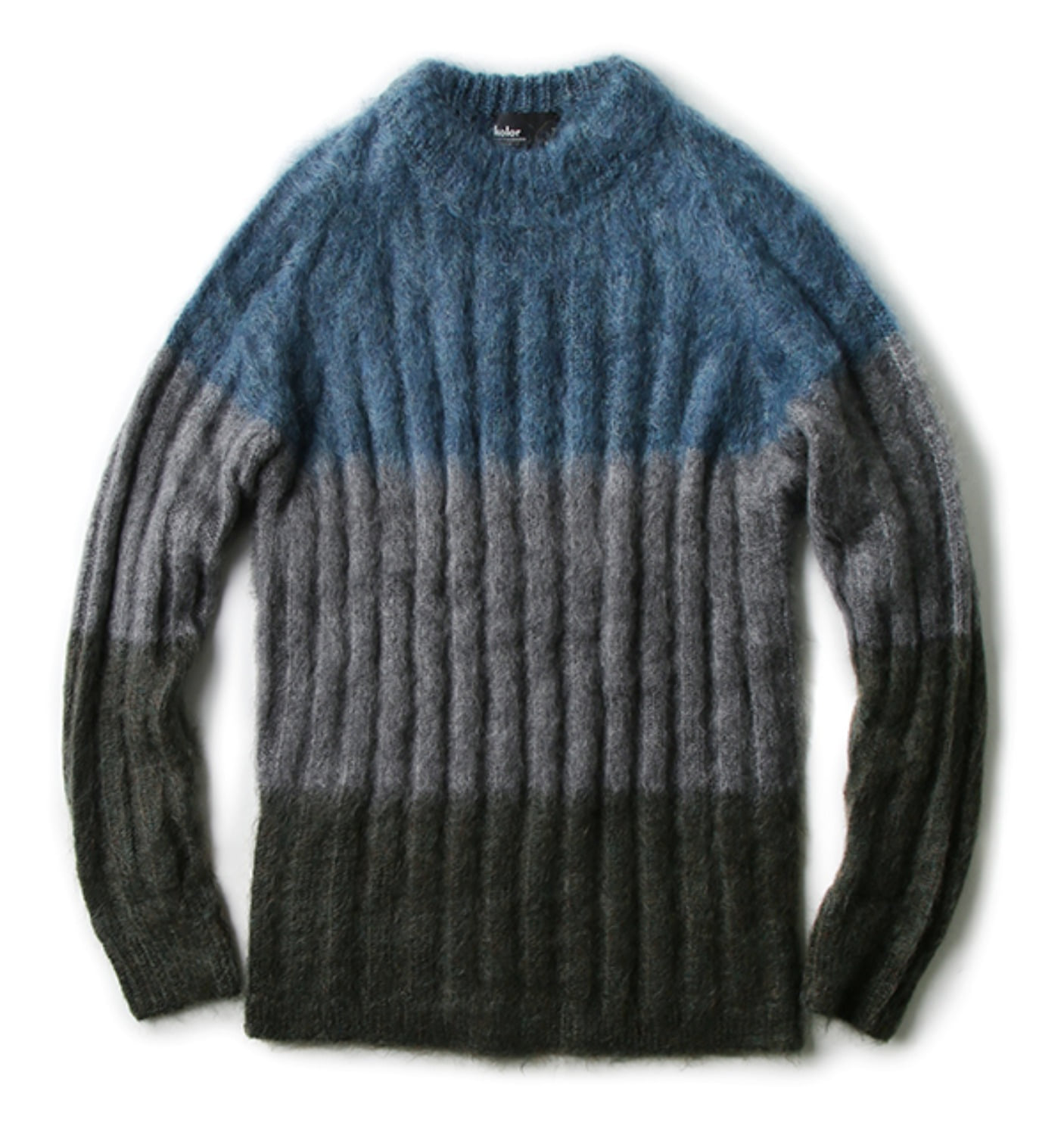 MOHAIR SWEATER LIGHT GREY(17WCM-N07304)