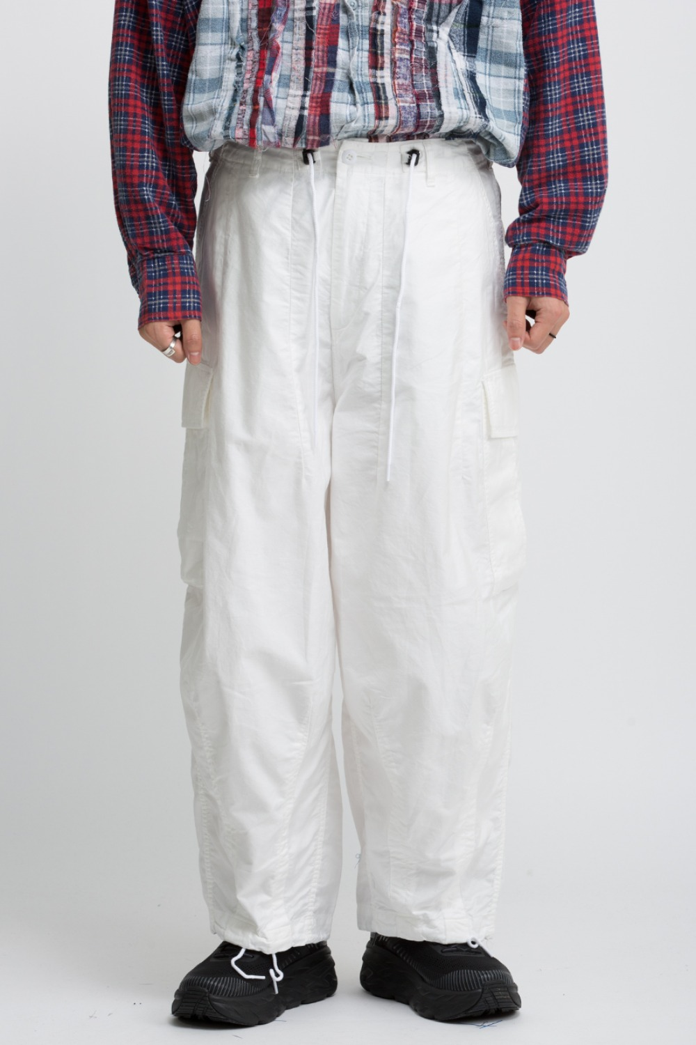 H.D. PANTS BDU WHITE