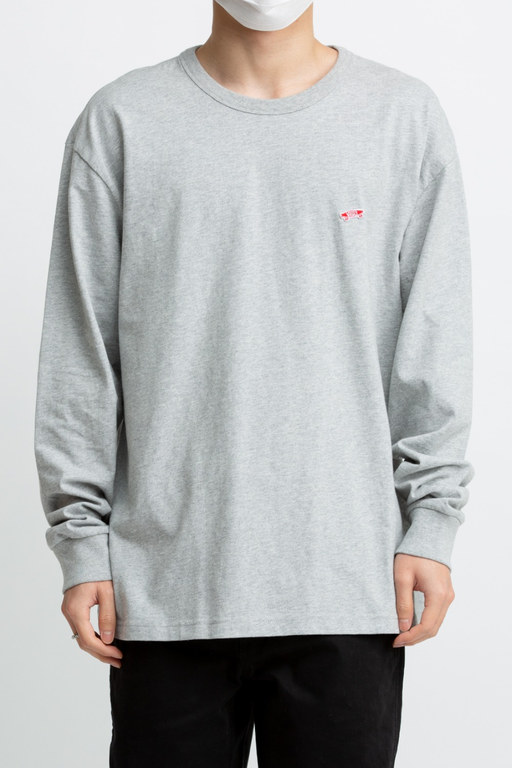 VAULT OG LS T-SHIRT GREY