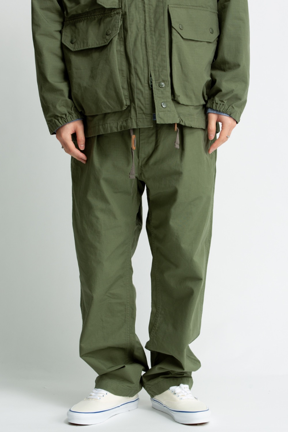 GROUND PANT OLIVE COTTON RIPSTOP