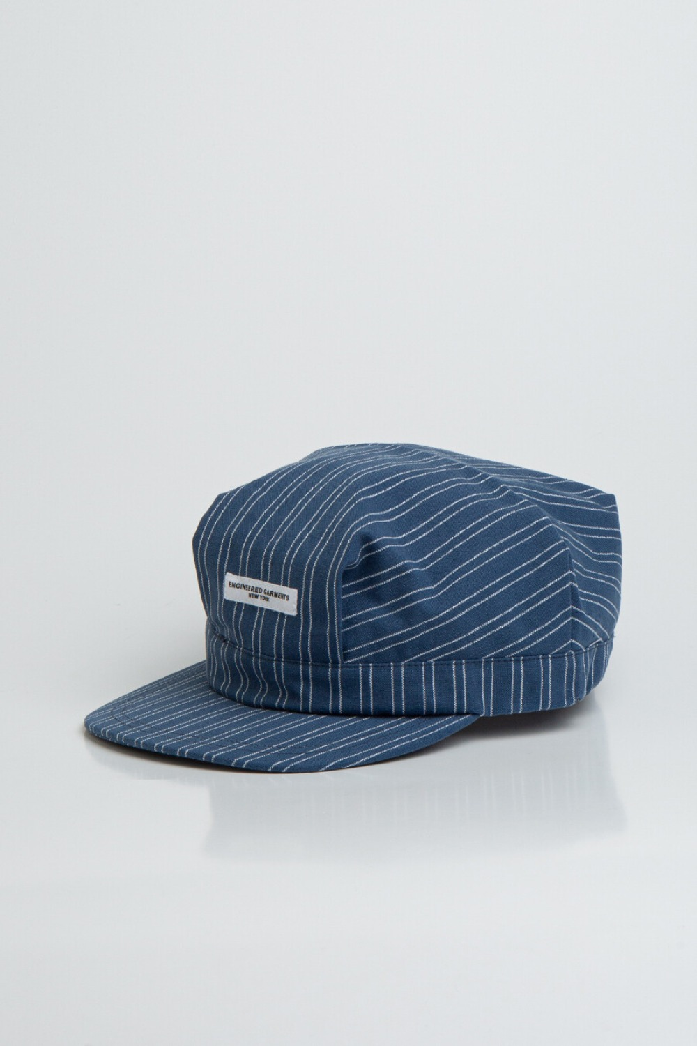 RAILROAD CAP BLUE WHITE WORKERS STRIPE