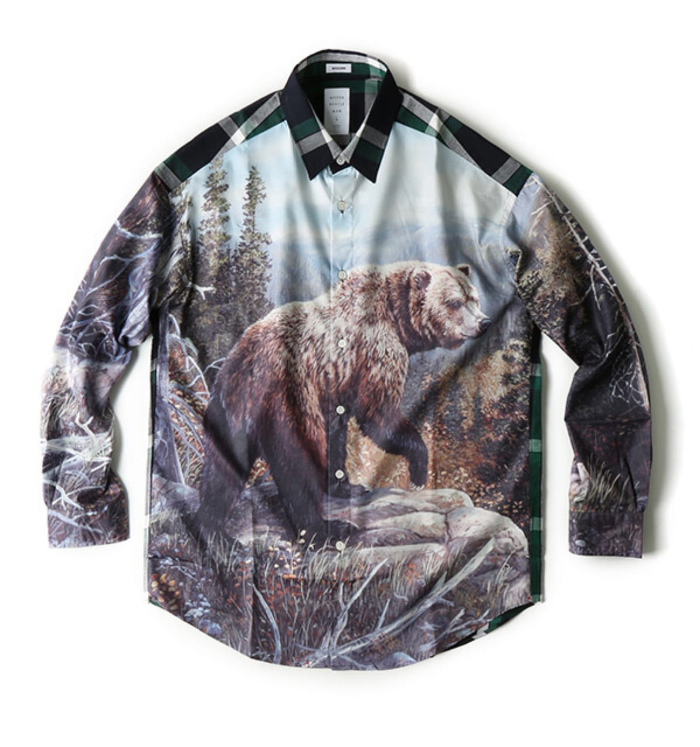 ANIMAL MODERN SHIRT BEAR(MGN-SH08)