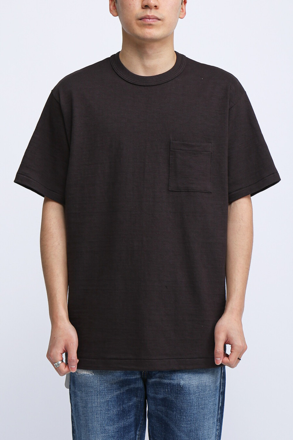 LOT 4601 POCKET T-SHIRT BLACK