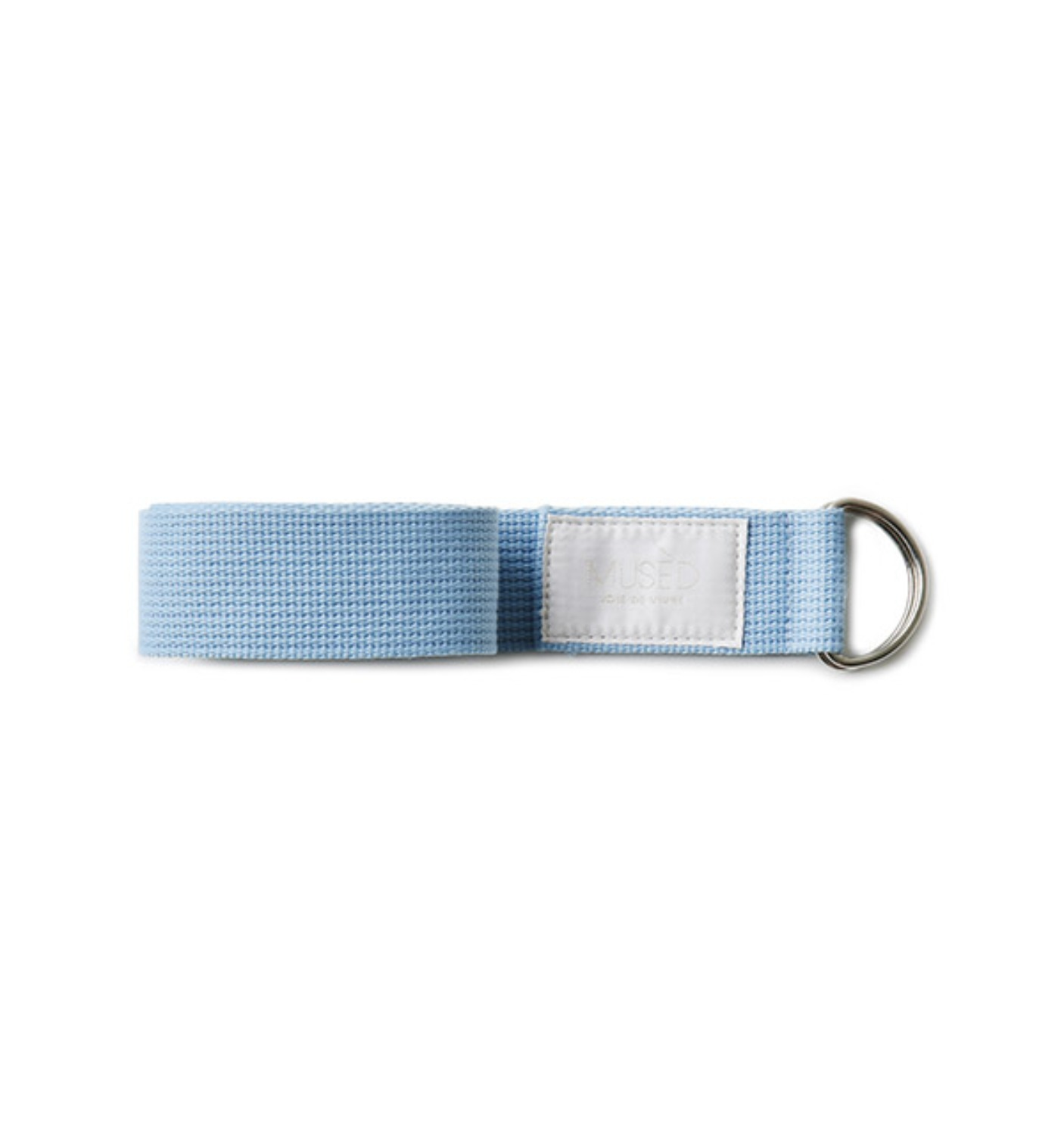 MUSED WEAVING BELT LIGHT SKYBLUE