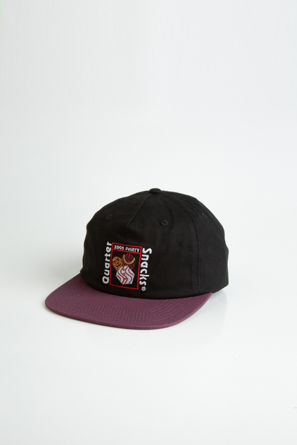 PARTY CAP BLACK/PURPLE