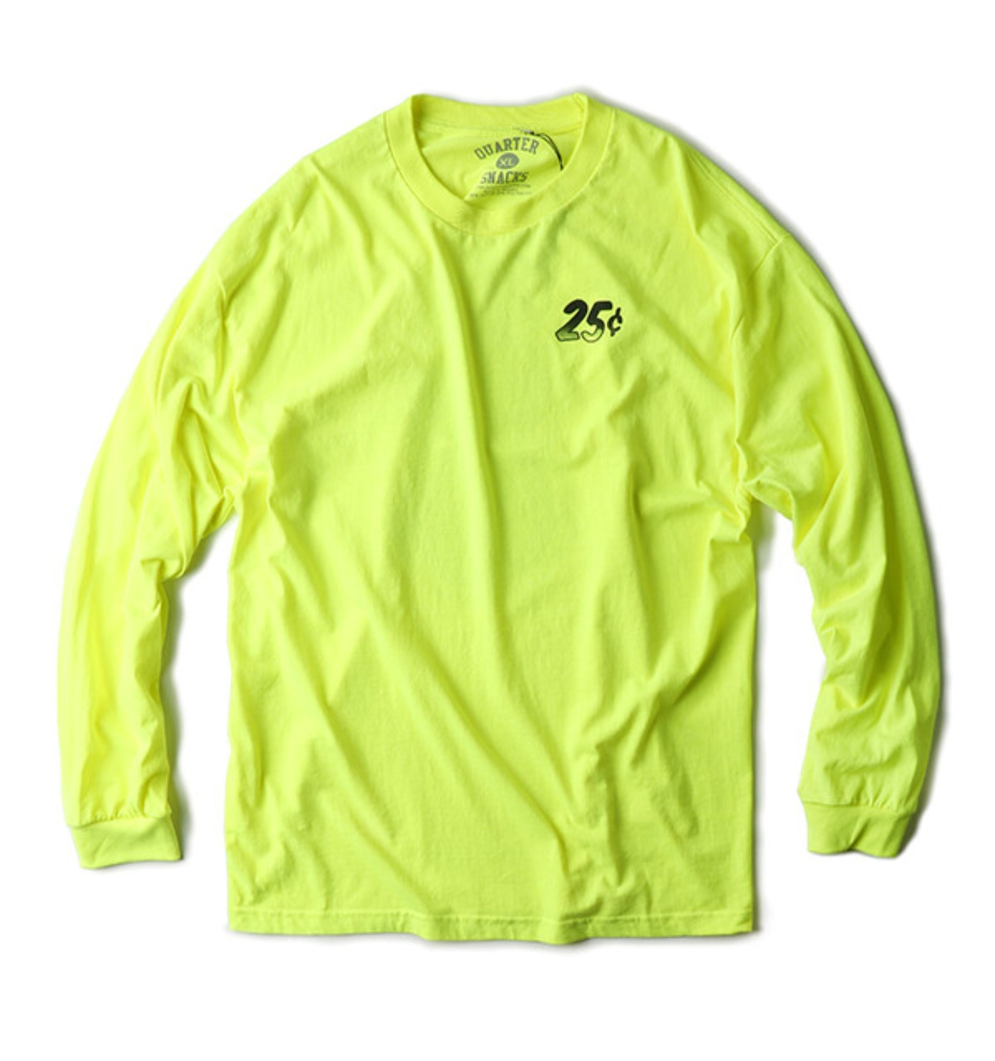 SNACKMAN FLYER L/S TEE NEON YELLOW