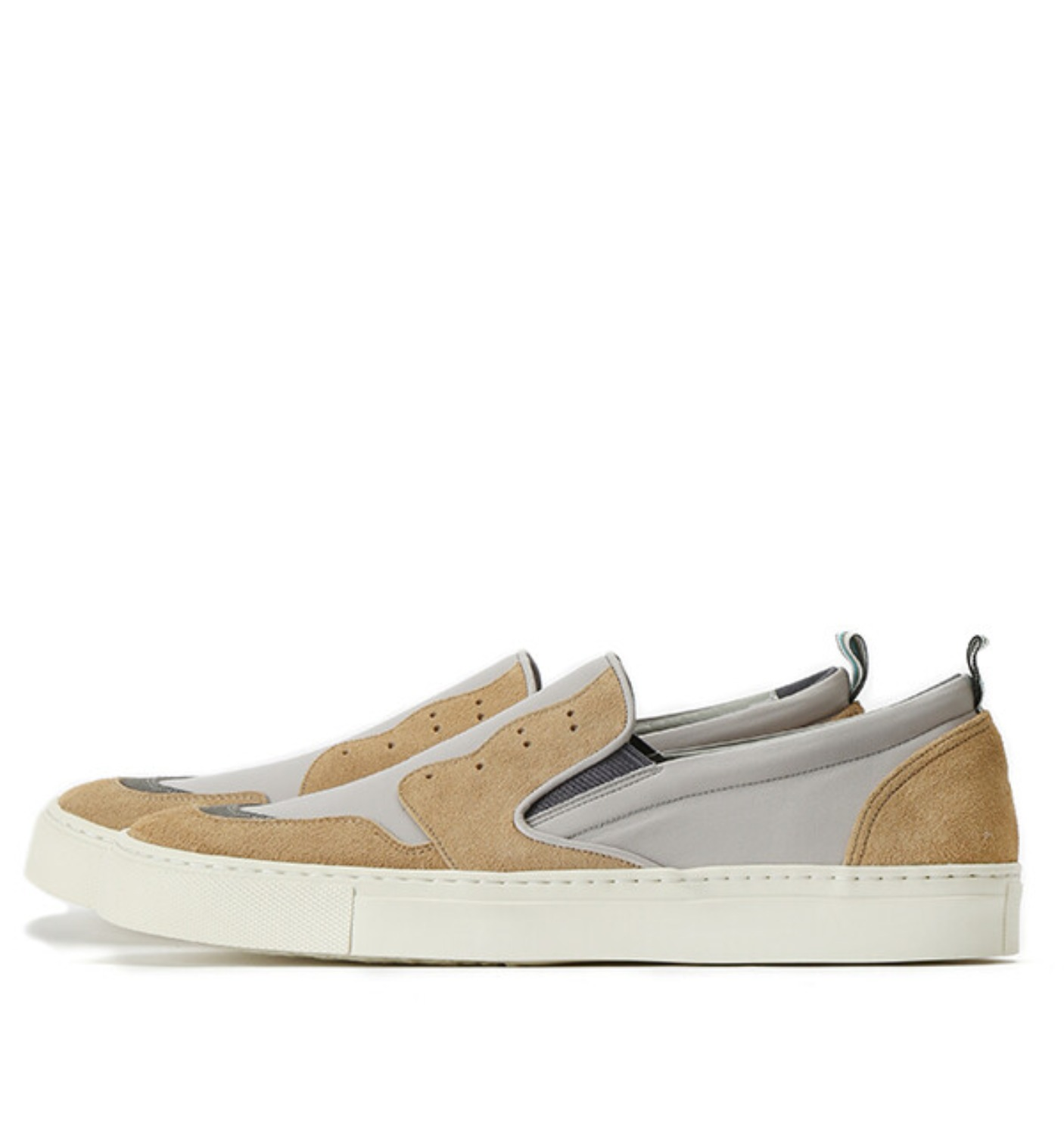 KOLOR SLIP ON BEIGE (18SCMA05504)