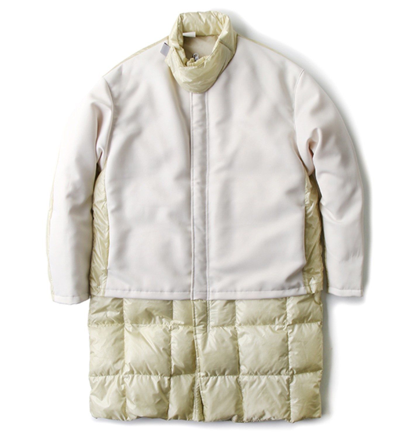 DOWN COAT WHITE(162-C003007)