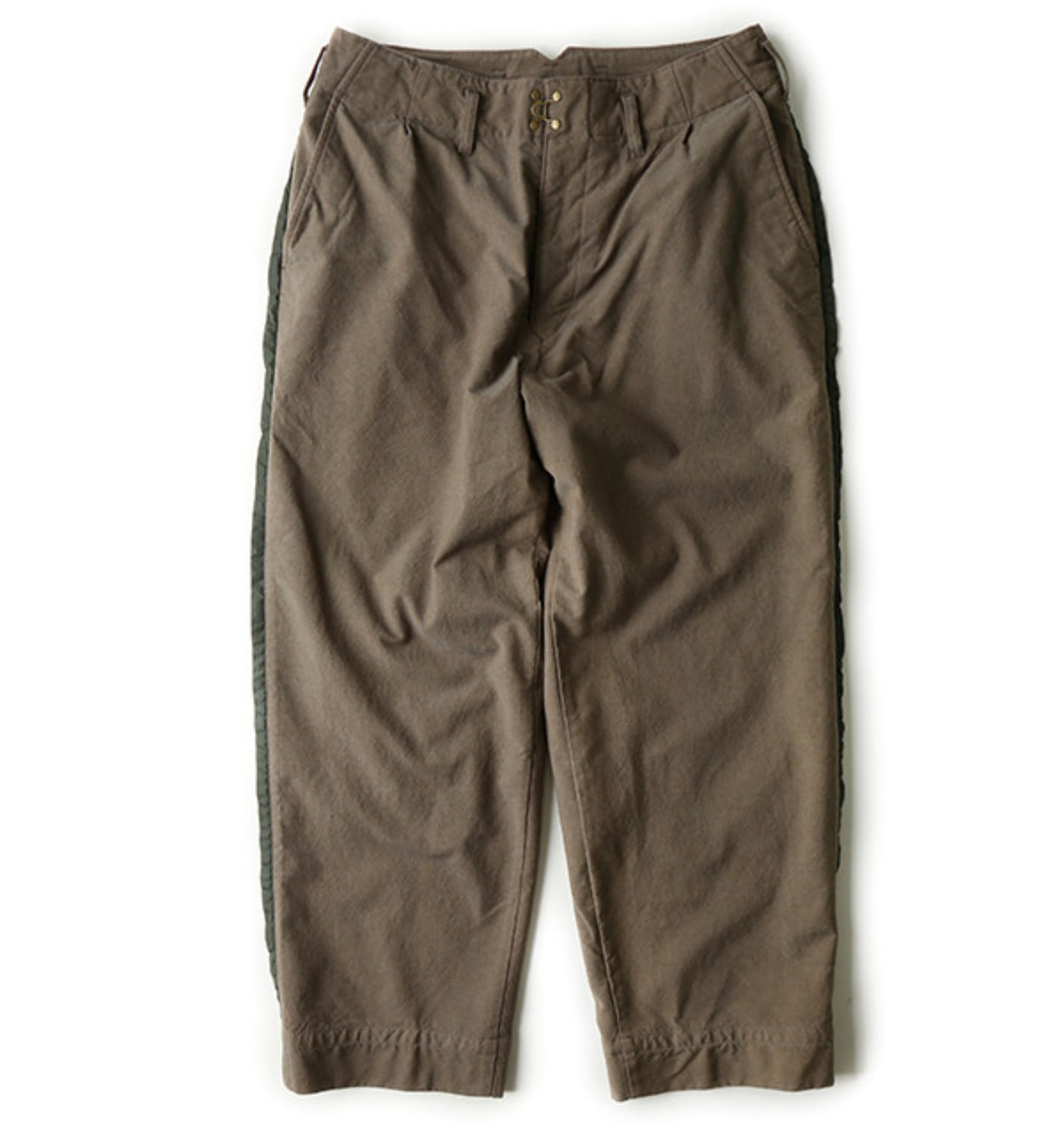 SHRINK SIDE LINE WOOL PANTS GRAGE (P03103)