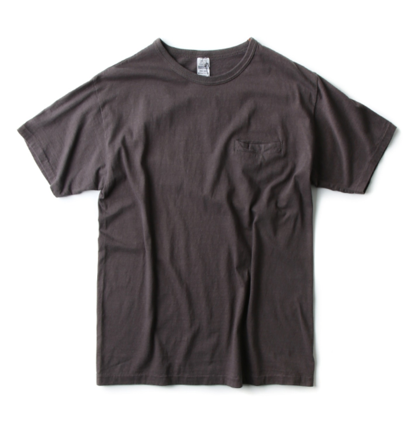 LOT 4066 SLASH POCKET T CHARCOAL