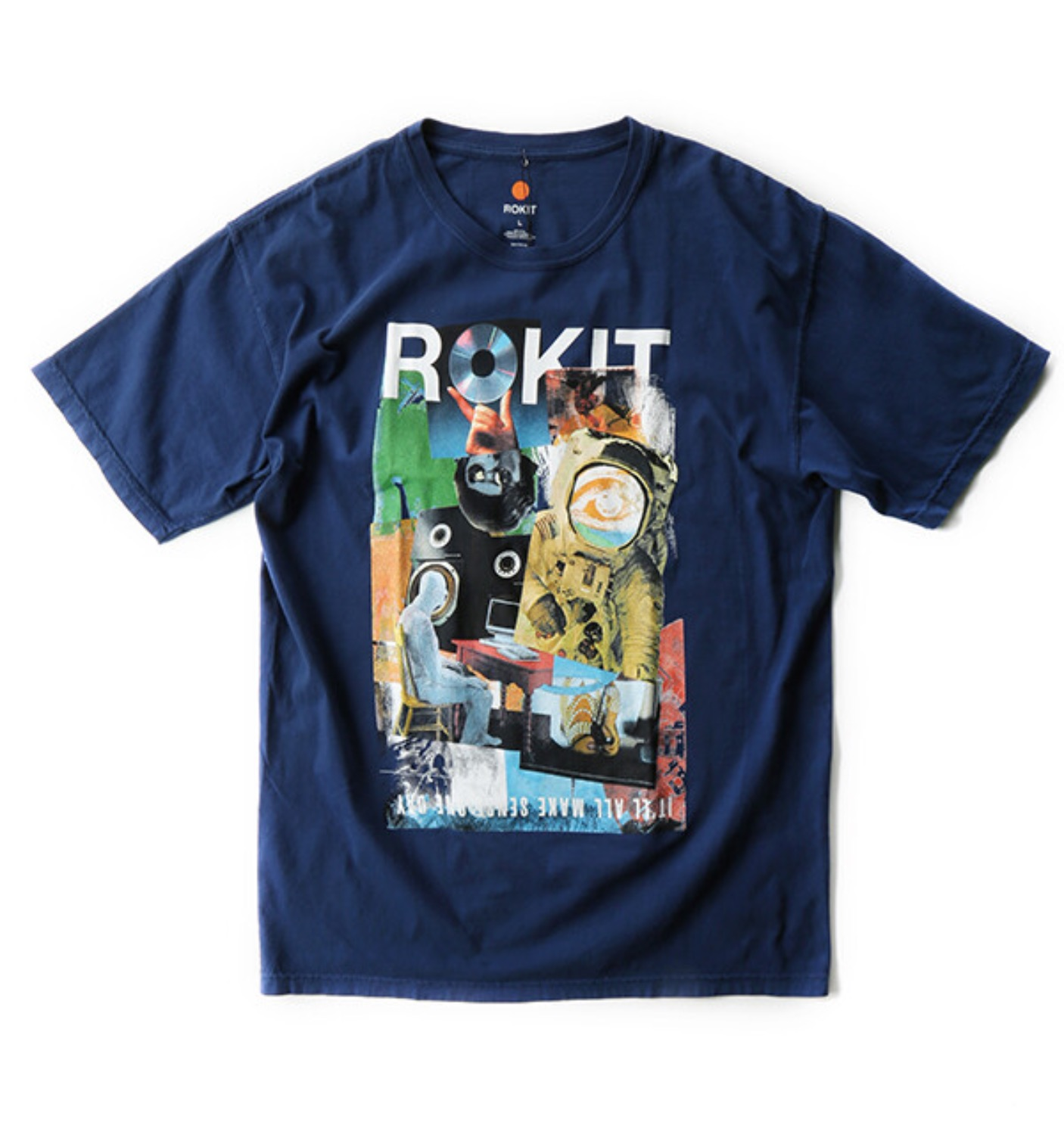 THE RUSH SS TEE NAVY
