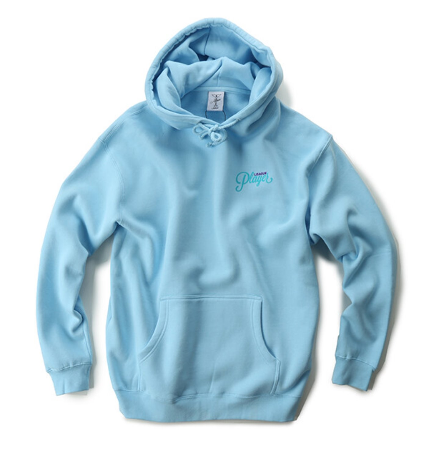 BREAKDOWN HOODY SKY BLUE