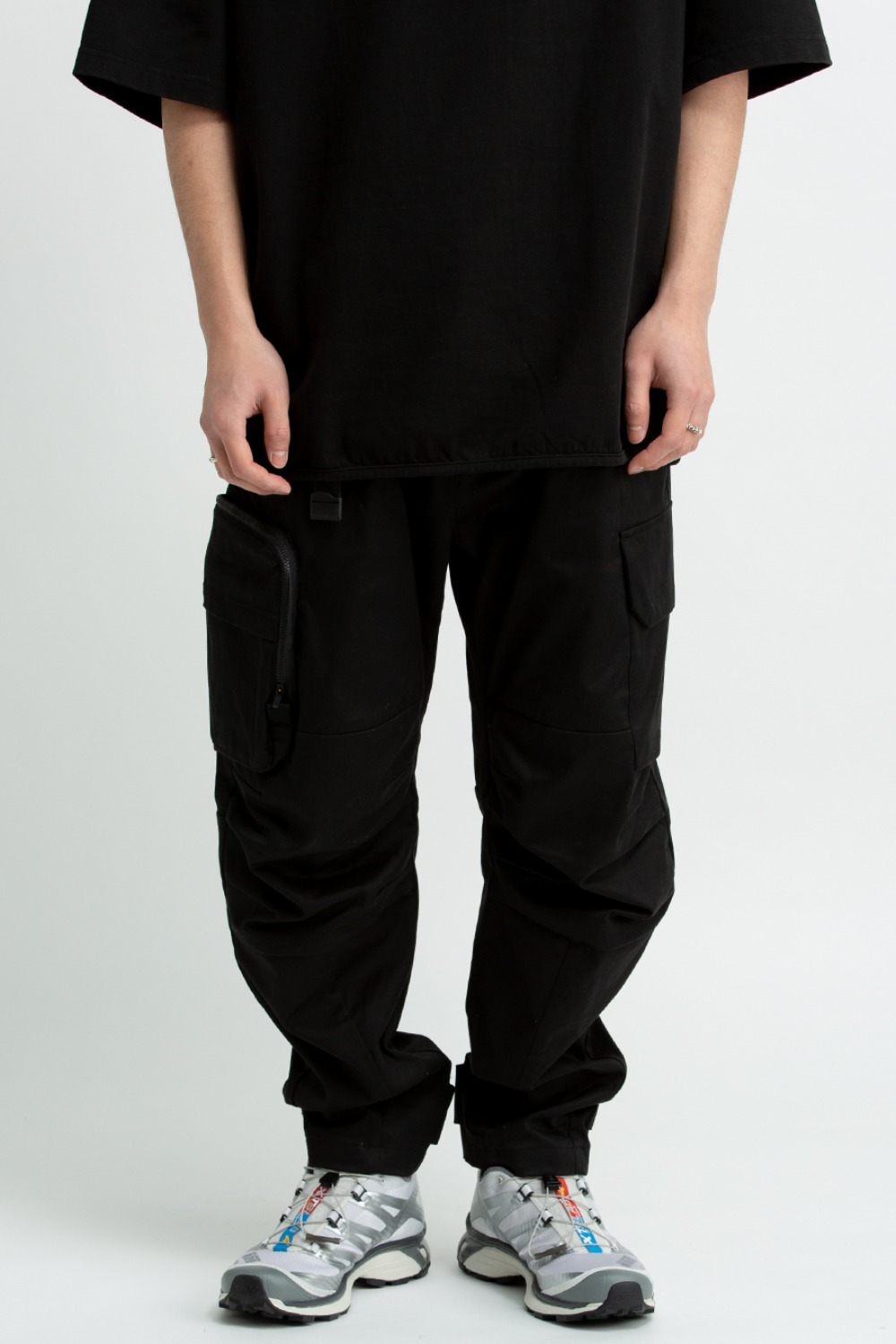 CLOUD NINE PANTS(ZYPNX21005) BLACK