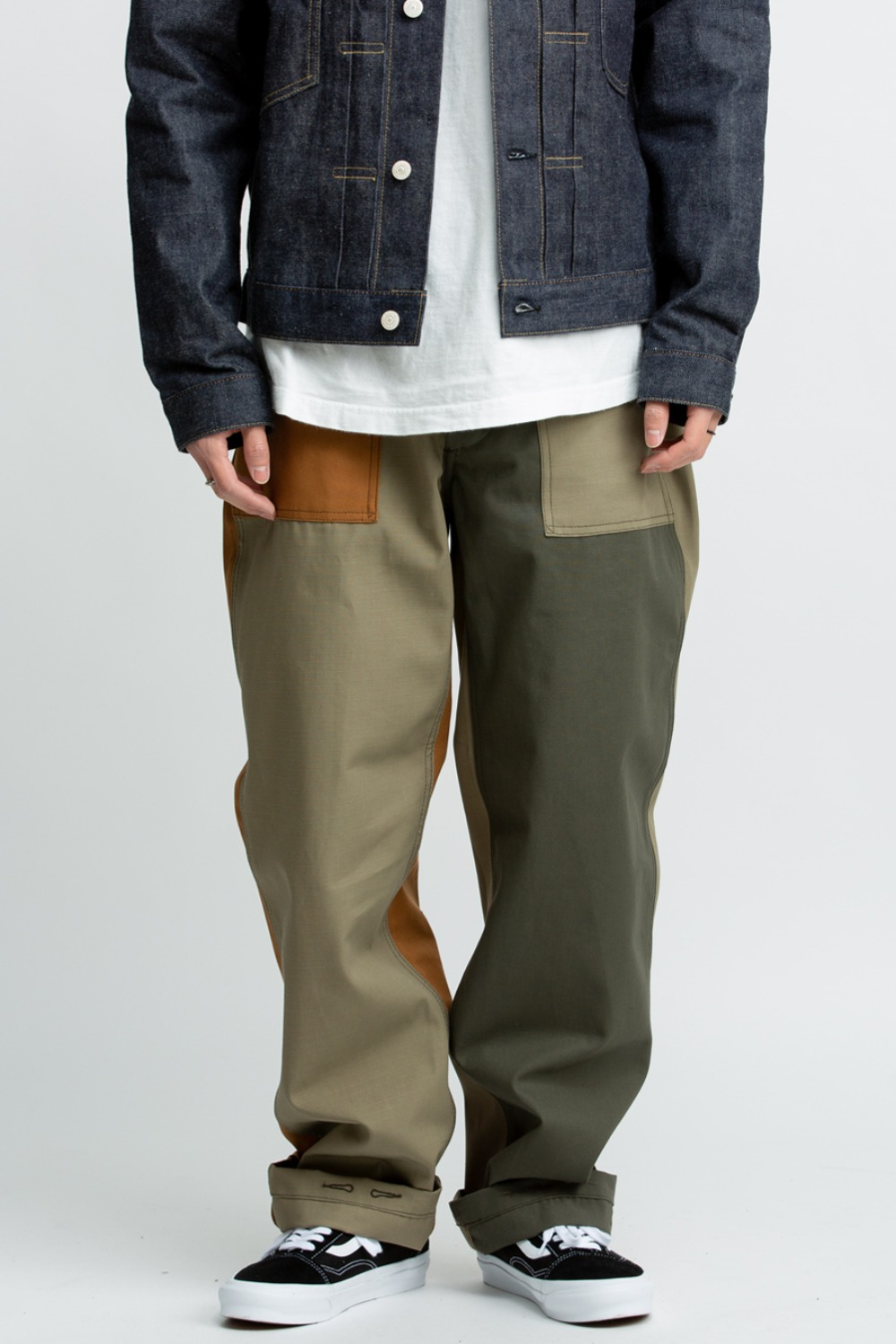 FATIGUE PANT COMBO OLIVE COTTON RIPSTOP
