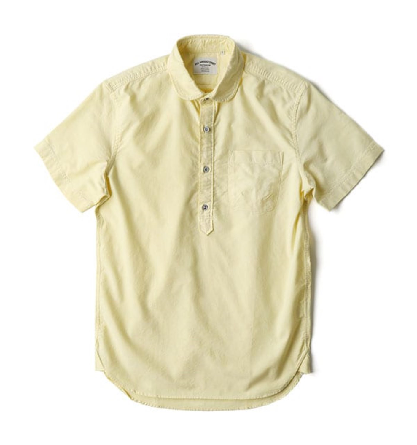 BAS02 LEMON SOLD OXFORD SHIRT