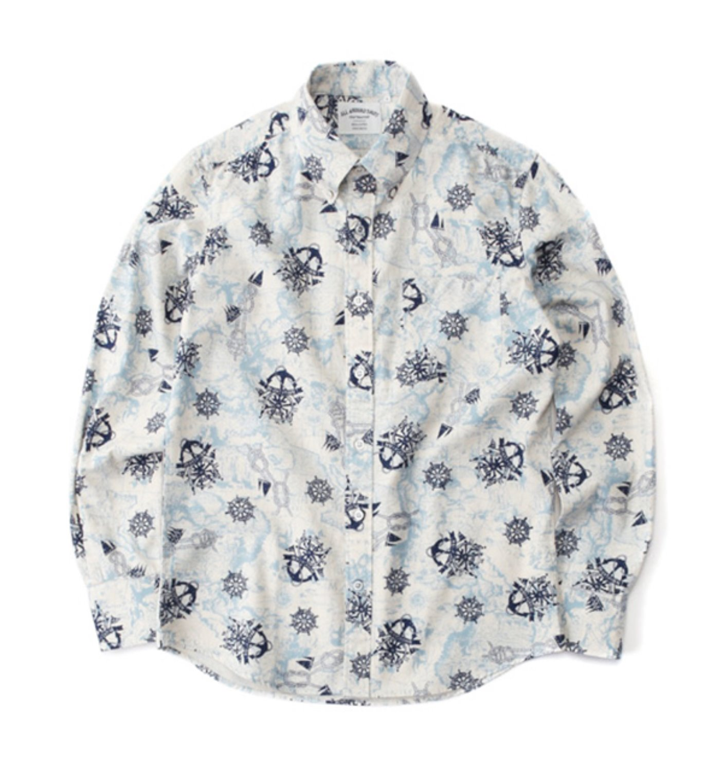SS01 MAP SHIRT