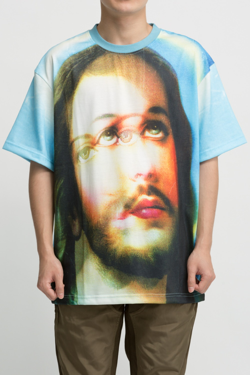 HOLY HEAVYWEIGHT T-SHIRT BLUE