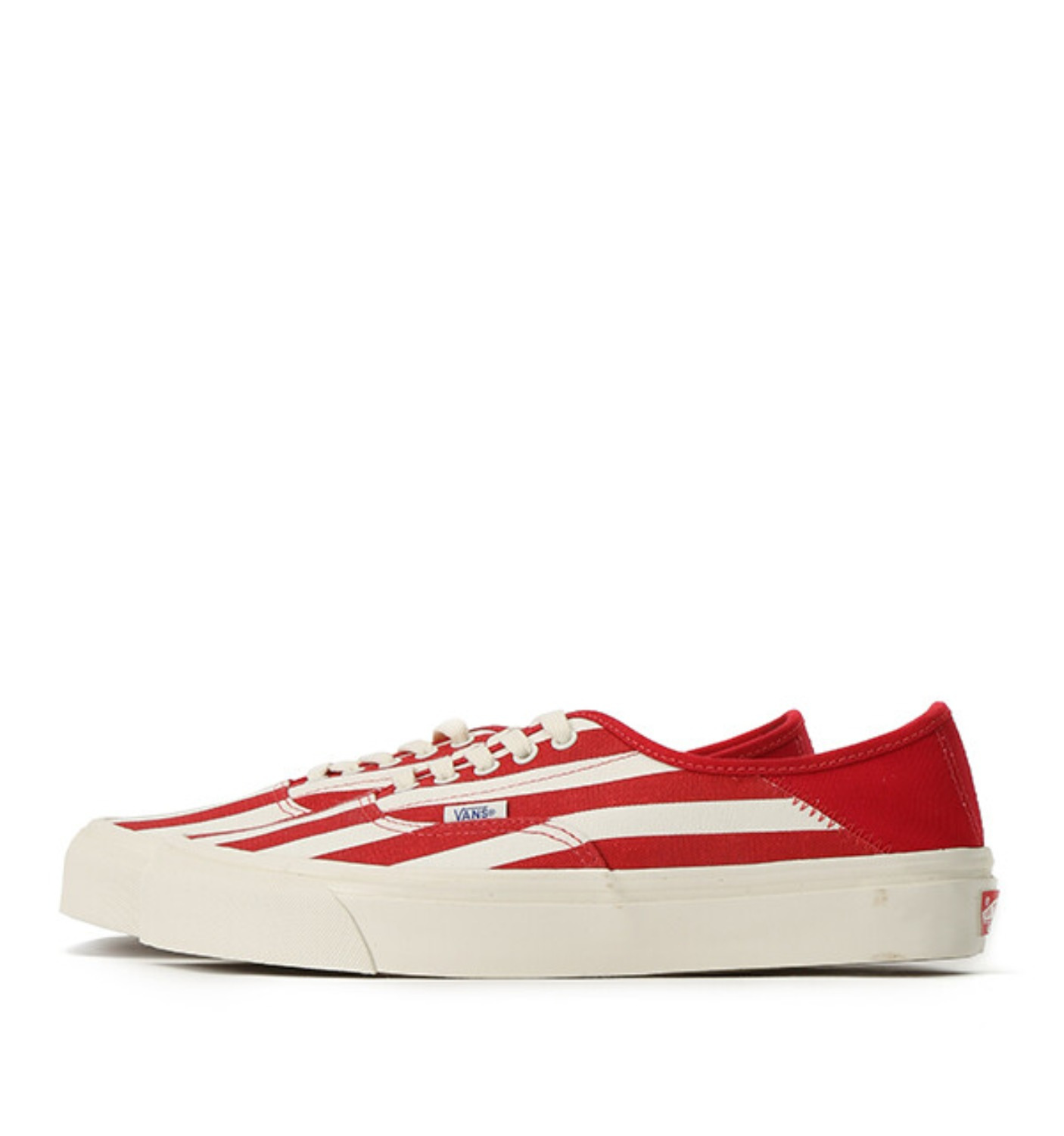 OG STYLE 43 DX CANVAS STRIPE RACING RED