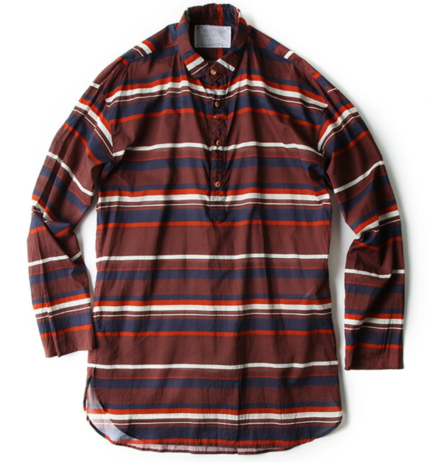MULTI STRIPE SHIRT BORDEAUX (18SCMB12117)