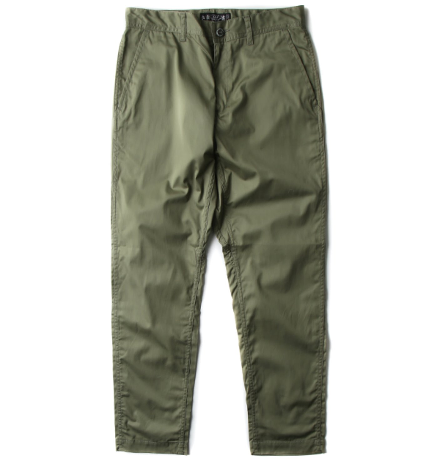 RELAX FIT GIZA COTTON WORK PANT OLIVE(BAL-1708)