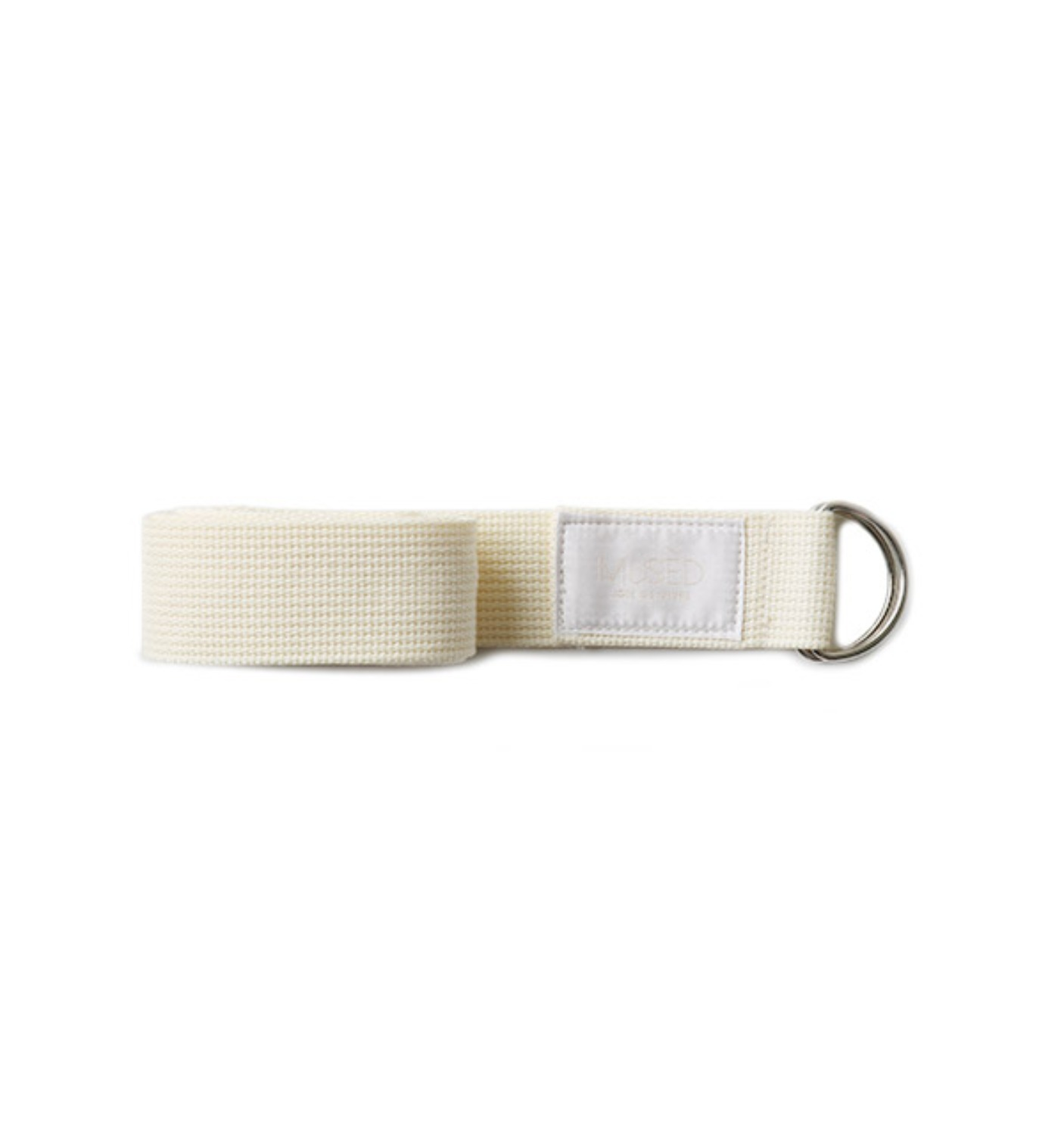 MUSED WEAVING BELT WHITE