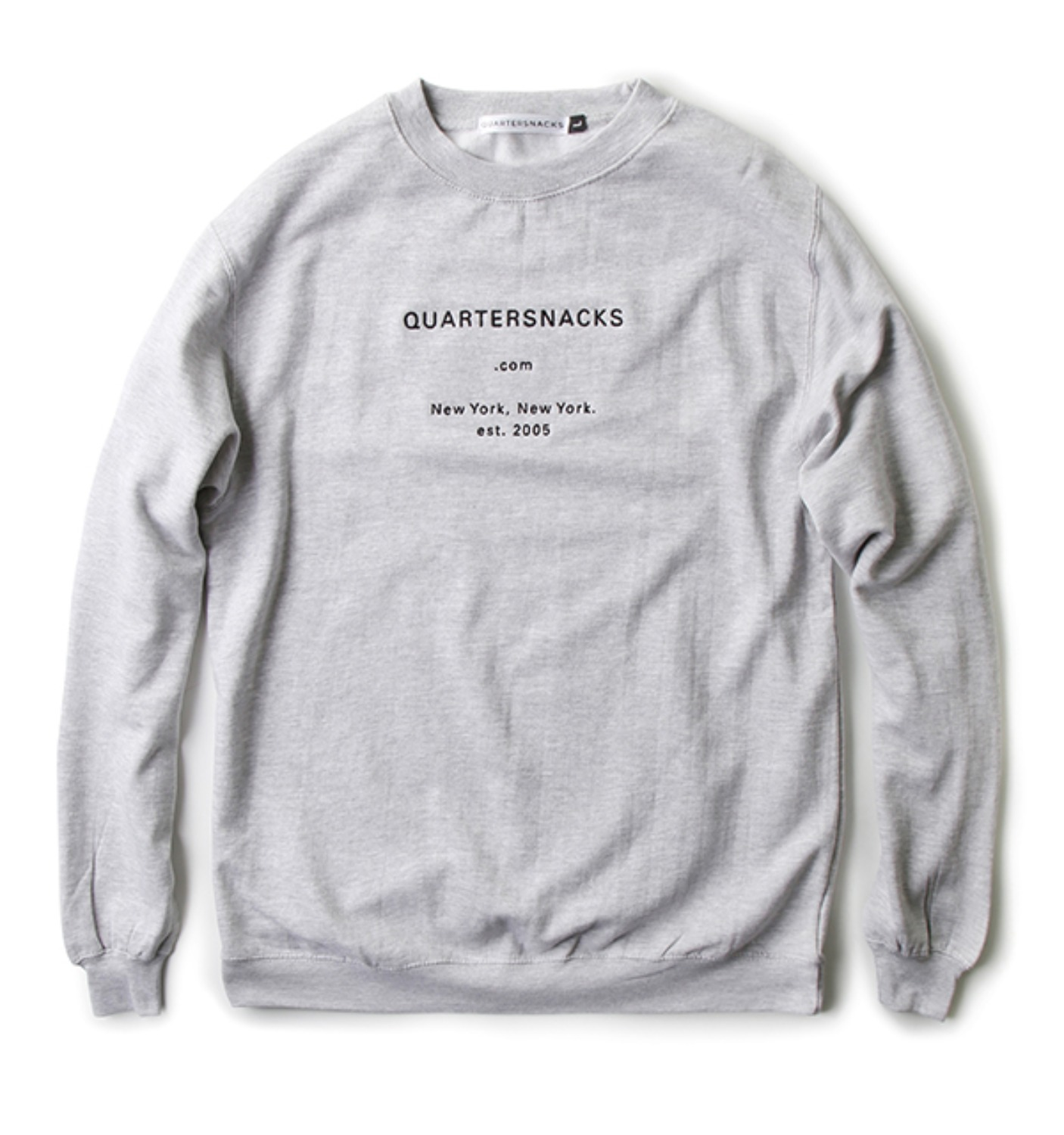 DOT COM CREW NECK GREY