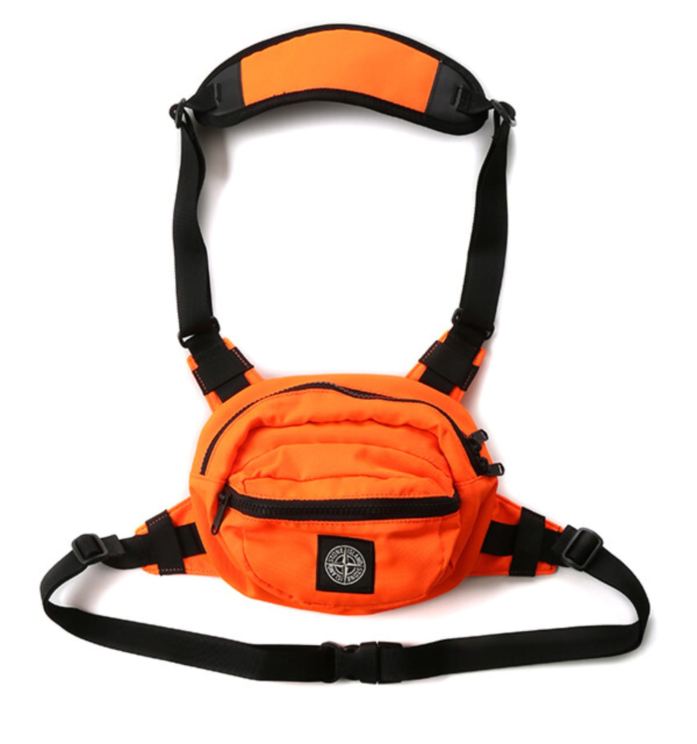 SI NYLON REPS BELT BAG ORANGE