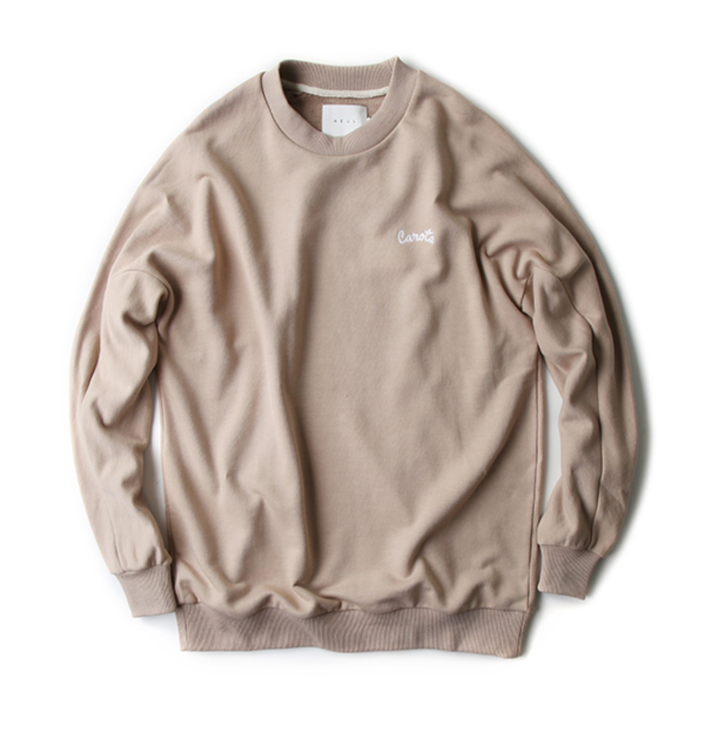 VEGETABLE SWEATSHIRT BEIGE (NTS02001A)
