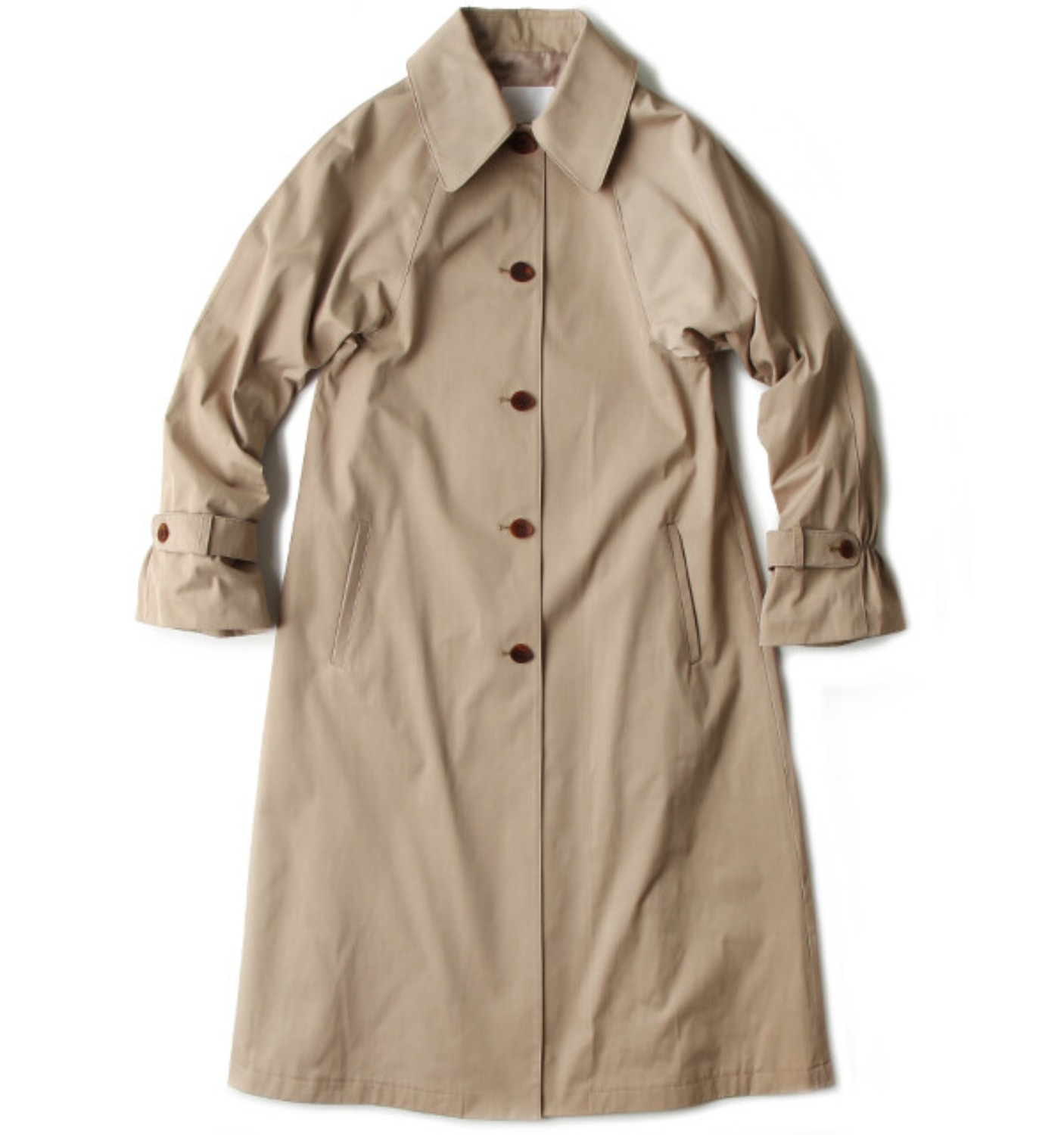 VINTAGE BLY A-LINE COAT CLASSIC BEIGE
