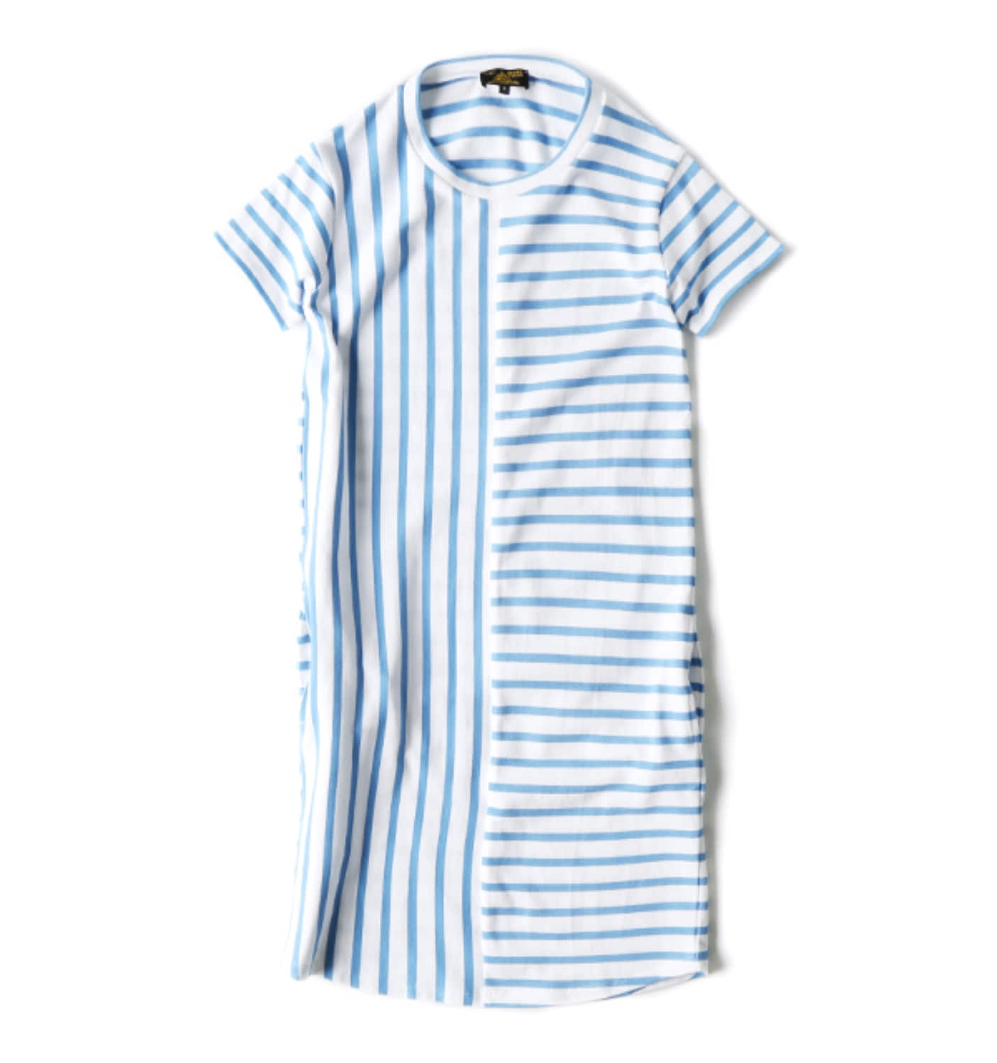 Striped dress WHITE/BLUE (12002F)