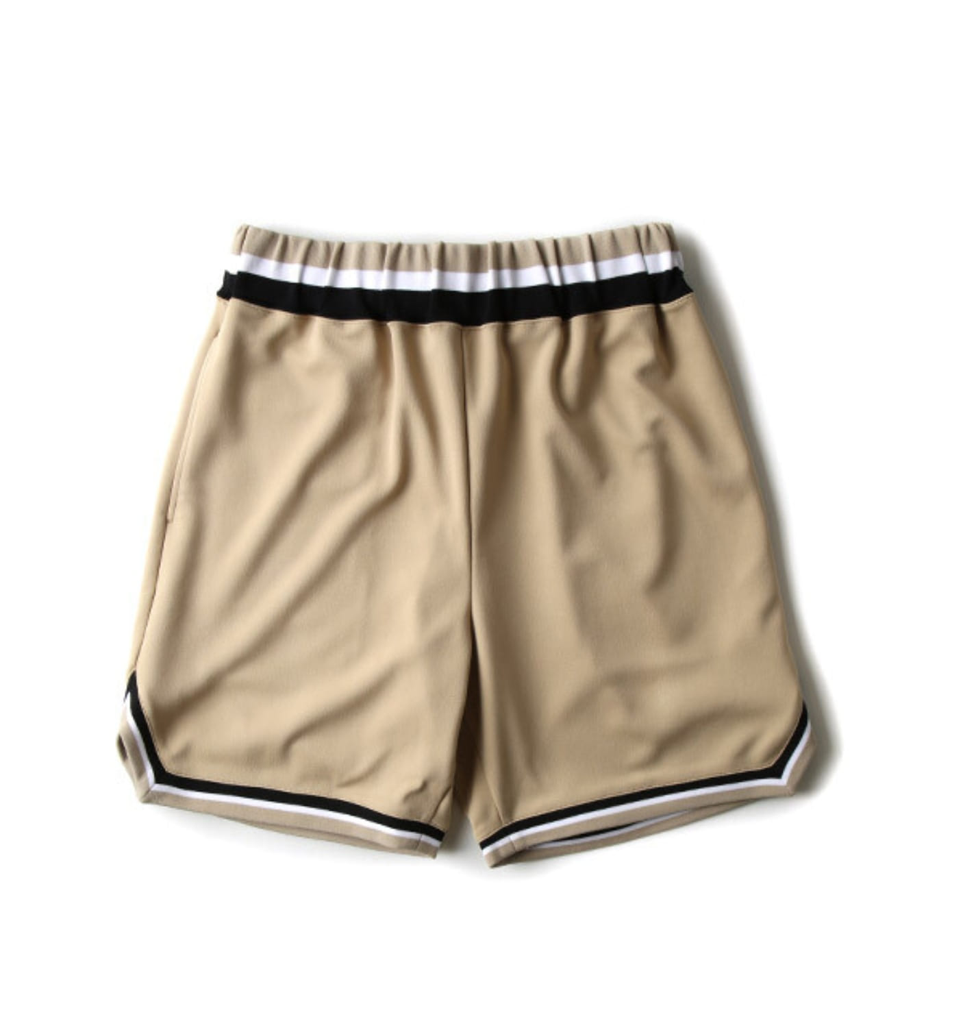 BASKETBALL JERSEY SHORT(MGM-SO16) BEIGE