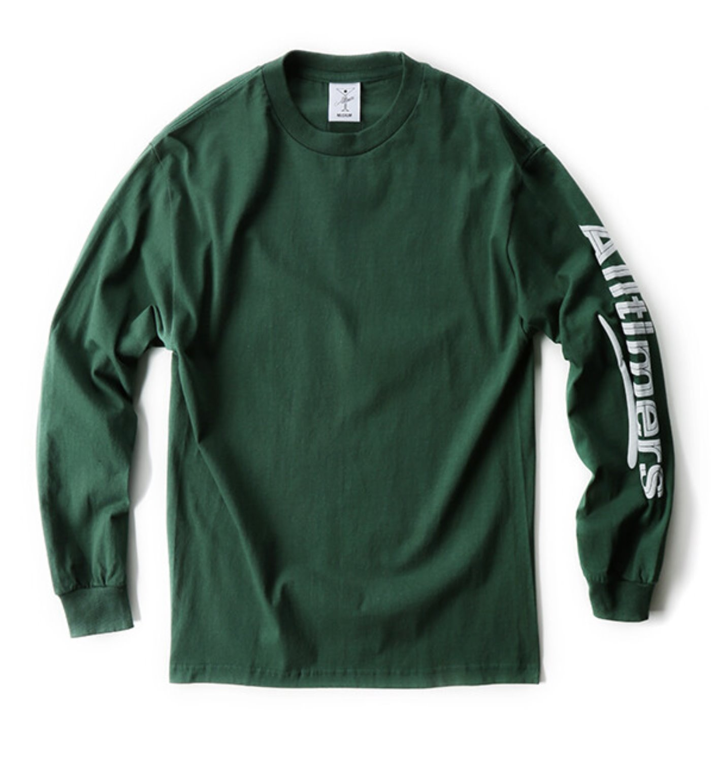 ESTATE PUFFY LS TEE GREEN