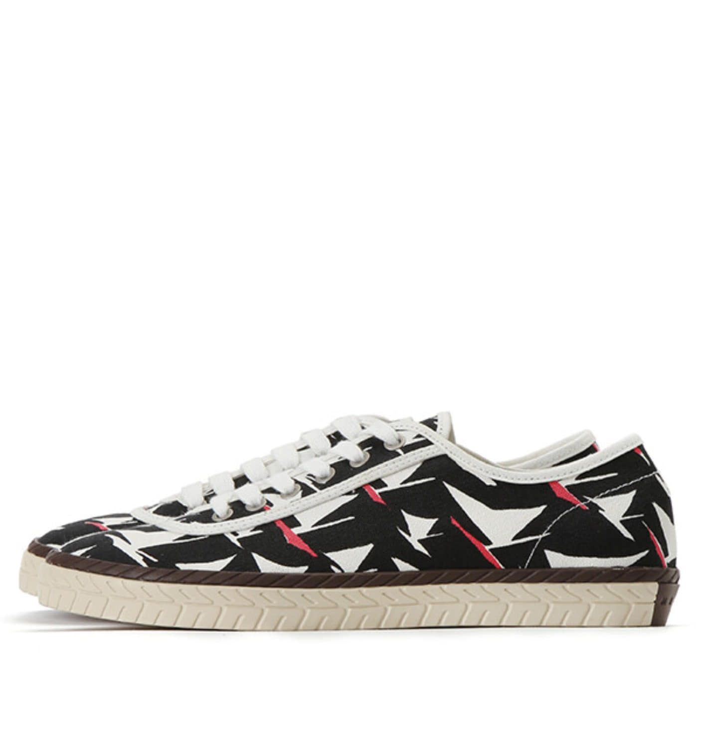 GRAPHIC PRINT SNEAKER BLACK(SNZUYWS06048698)