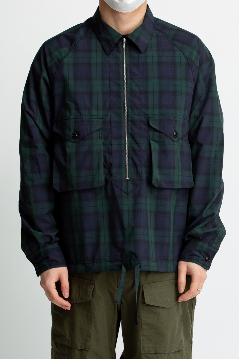 SCOUT PULLOVER SHIRT BLACK WATCH