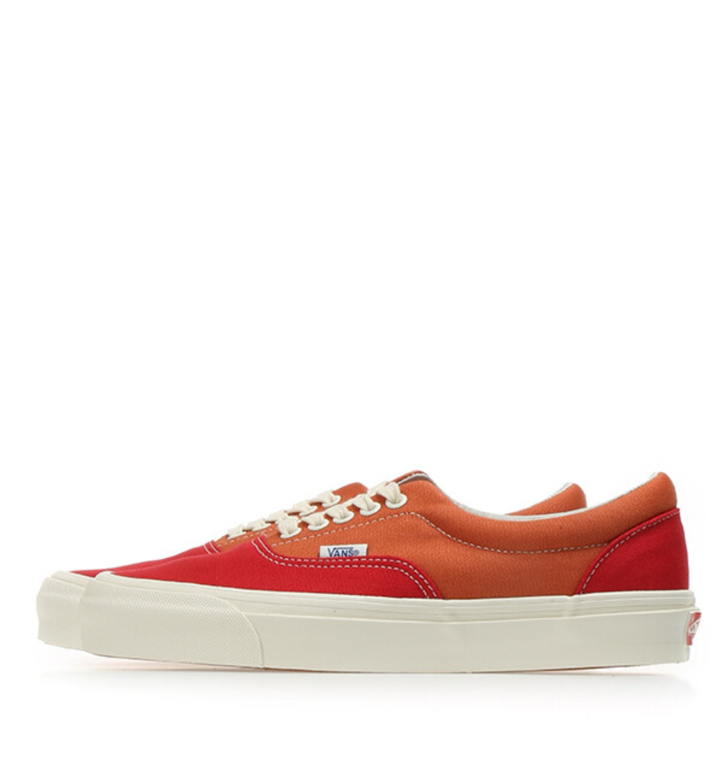 OG ERA LX(CANVAS)RACING RED/APRICOT ORNAGE