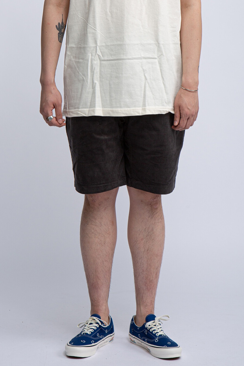 SUMMER CORDUROY ST-SHORT CHARCOAL
