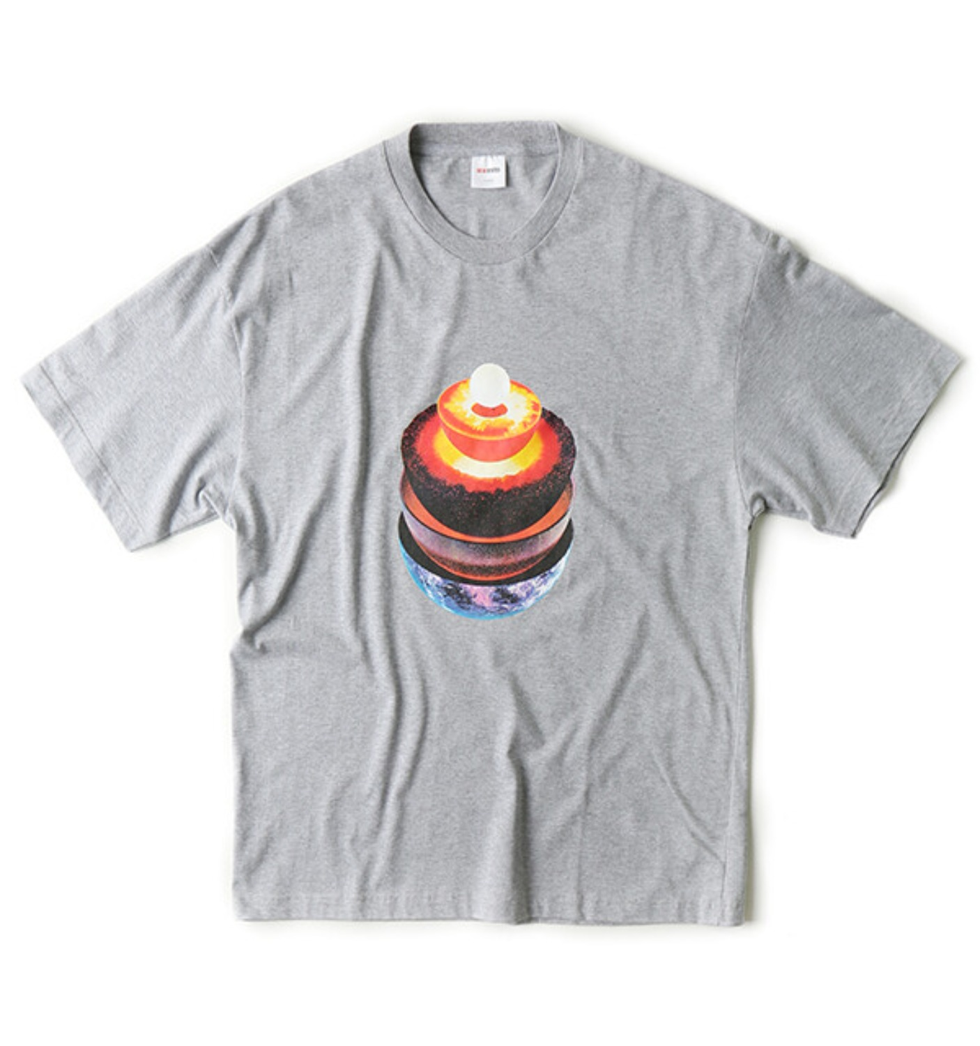 FRACTION T SHIRT GREY