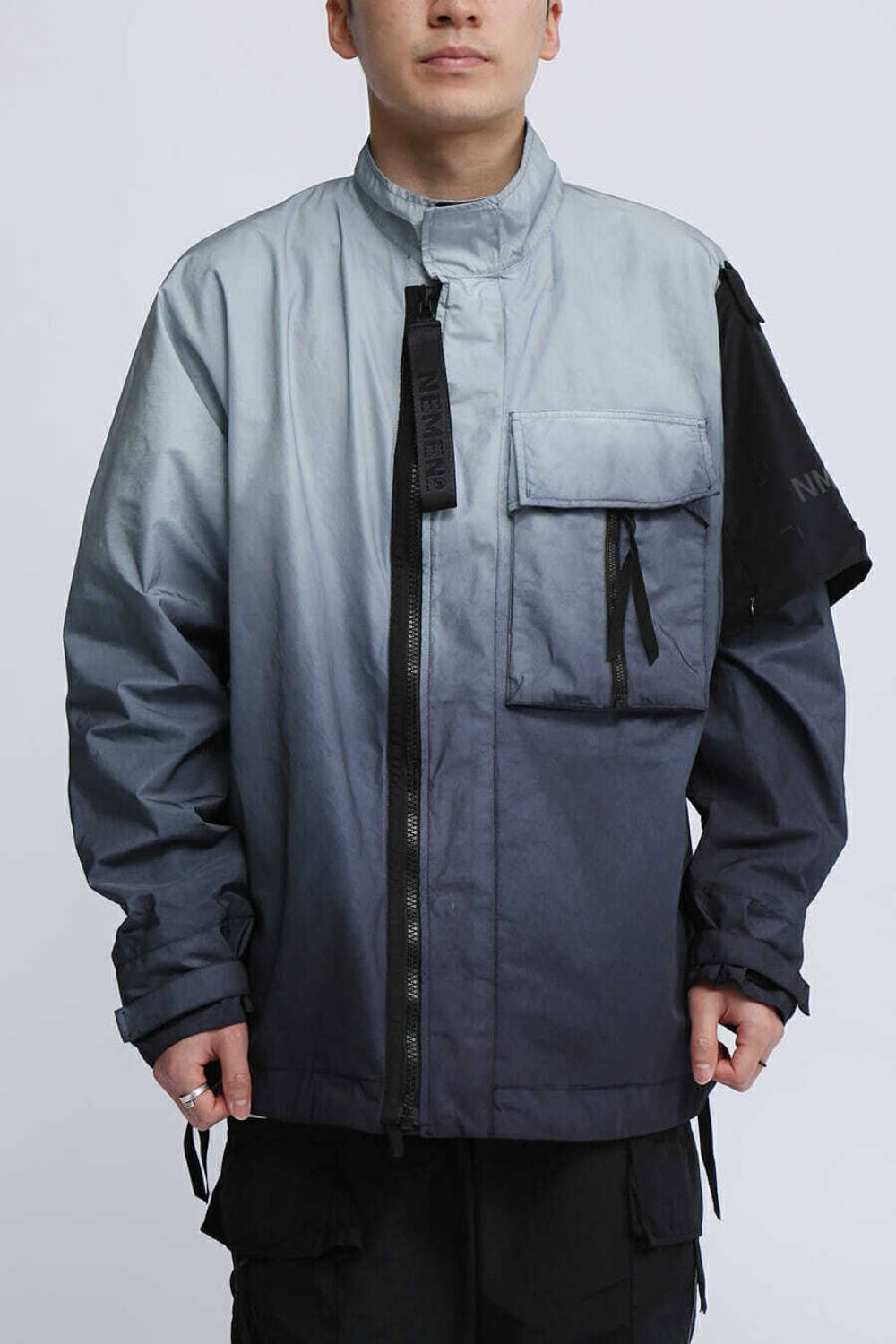 WOVEN ZEPHYR 3L JACKET DIPPING GREY