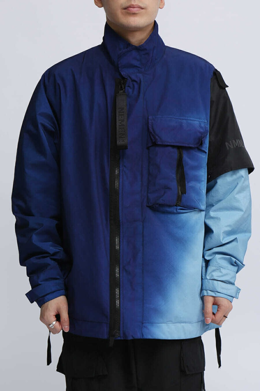 WOVEN ZEPHYR 3L JACKET DIPPING BLUE
