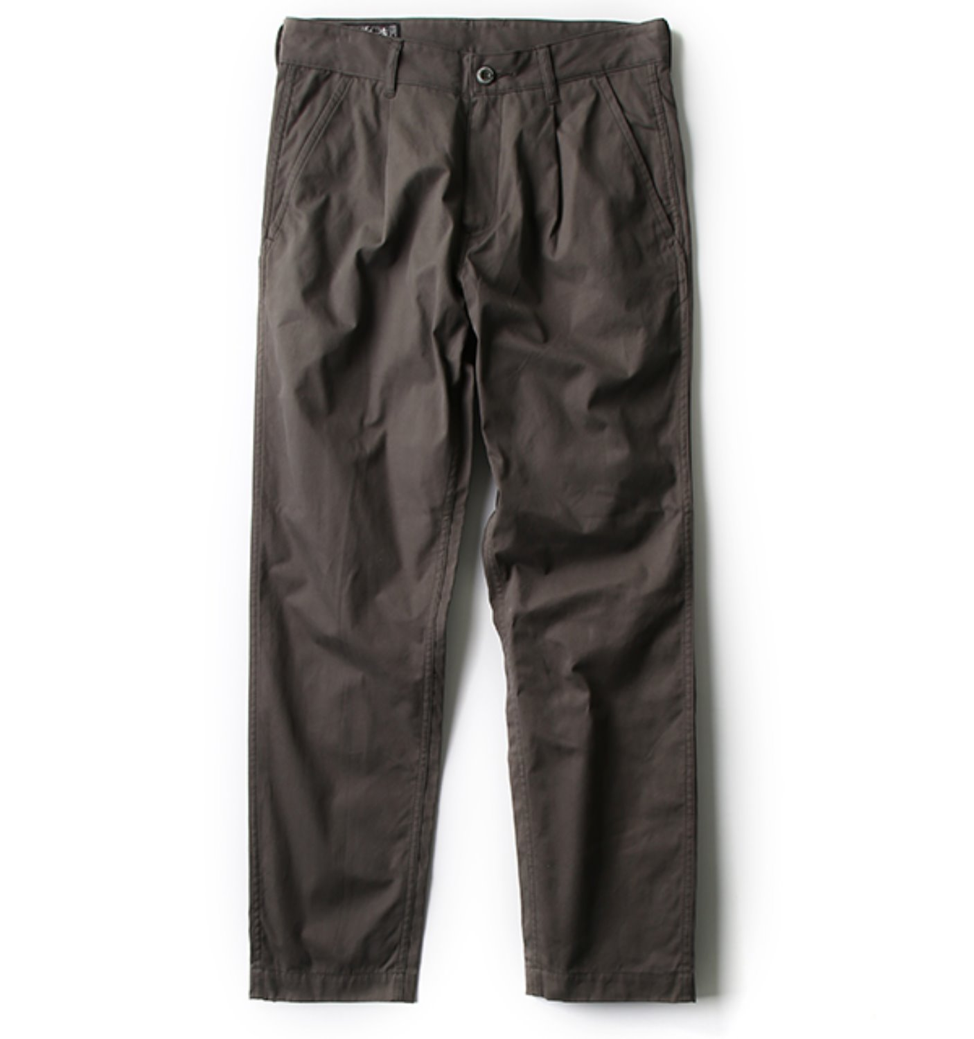PLEATED TROUSER OLIVE